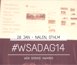 #WSAdag14 – Web Service Awards