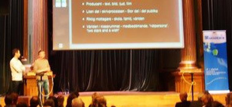 Föreläsning om Bibblis på Digitala Akademin